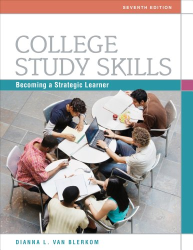 College Study Skills Becoming a Strategic Learner 7th 2012 edition cover