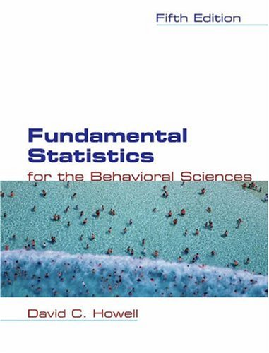Fundamental Statistics for the Behavioral Sciences  5th 2004 (Revised) edition cover