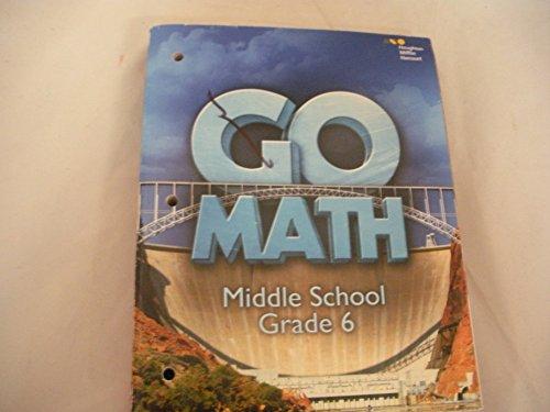 Go Math! 2016 Worktext, Grade 6:   2015 9780544707511 Front Cover