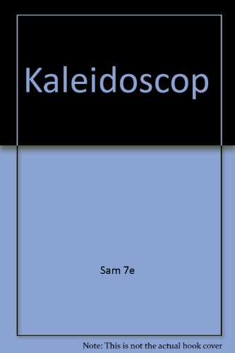 Kaleodoskop with Cd Plus Student Activity Manual 7th Edition Plus German / English Dictionary 7th 2007 9780618804511 Front Cover