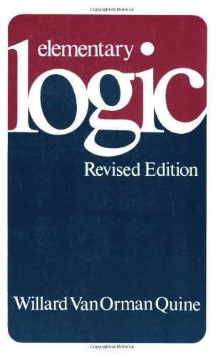 Elementary Logic  3rd 1980 (Revised) edition cover