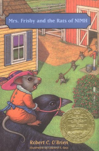 Mrs. Frisby and the Rats of NIMH   1971 edition cover