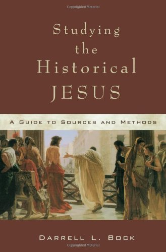Studying the Historical Jesus A Guide to Sources and Methods  2002 edition cover