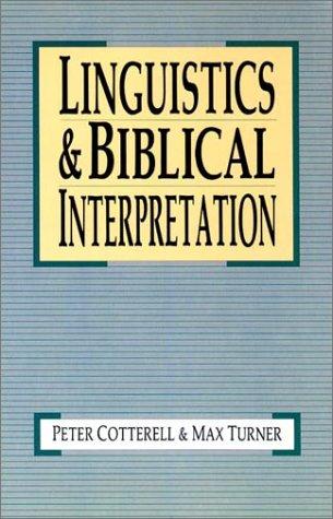 Linguistics and Biblical Interpretation  N/A edition cover