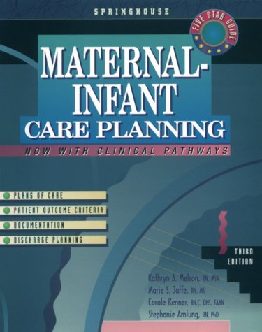 Maternal-Infant Care Planning 3rd 1999 edition cover