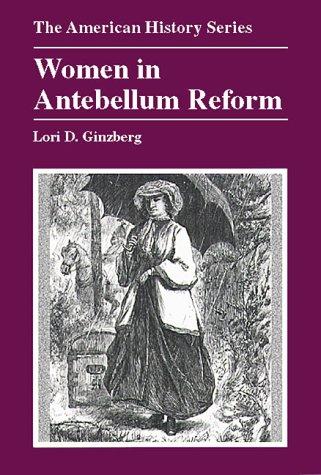Women in Antebellum Reform   2000 edition cover