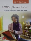 McGraw-Hill's Taxation of Business Entities 2017 Edition, 8e  8th 2017 9781259730511 Front Cover