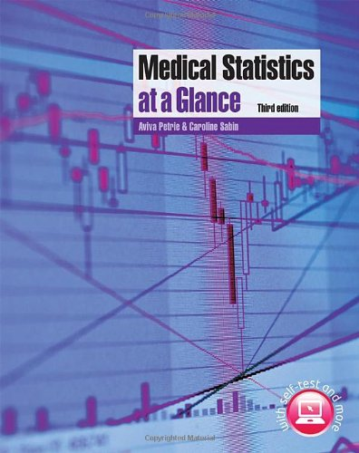 Medical Statistics  3rd 2009 edition cover