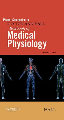 Pocket Companion to Guyton and Hall Textbook of Medical Physiology  12th 2011 edition cover