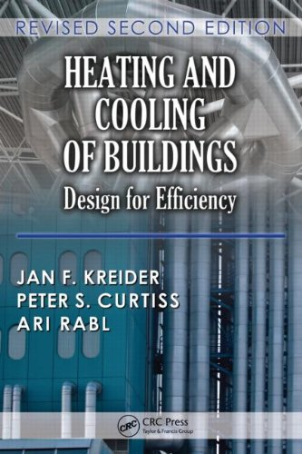 Heating and Cooling of Buildings Design for Efficiency 2nd 2009 (Revised) 9781439811511 Front Cover