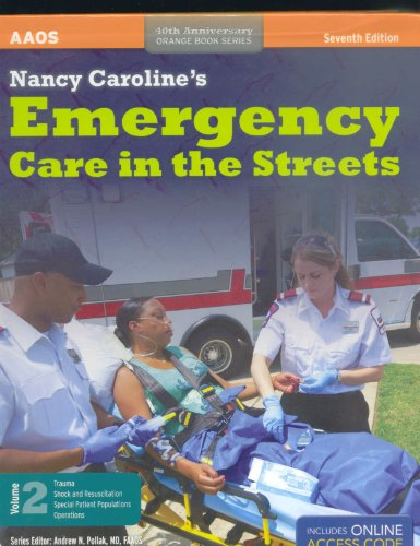 Book Alone Nc Emergency Care in the:   2012 edition cover