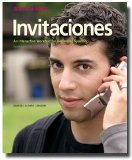 Invitaciones  2nd (Student Manual, Study Guide, etc.) 9781600079511 Front Cover