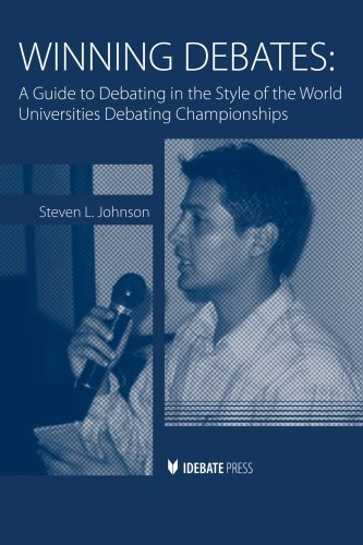 Winning Debates A Guide to Debating in the Style of the World Universities Debating Championships  2009 edition cover