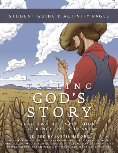 Telling God's Story Year Two Activity Book Student Guide and Activity Pages Student Manual, Study Guide, etc. 9781933339511 Front Cover