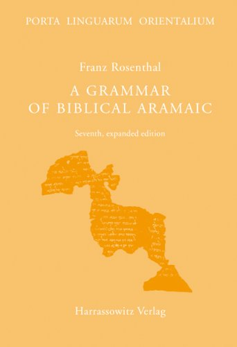 Grammar of Biblical Aramaic  7th edition cover