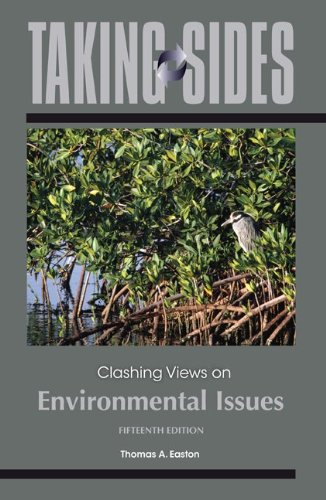 Taking Sides: Clashing Views on Environmental Issues  15th 2013 edition cover