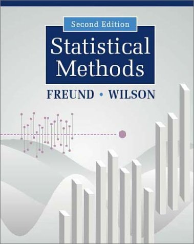 Statistical Methods  2nd 2003 (Revised) 9780122676512 Front Cover