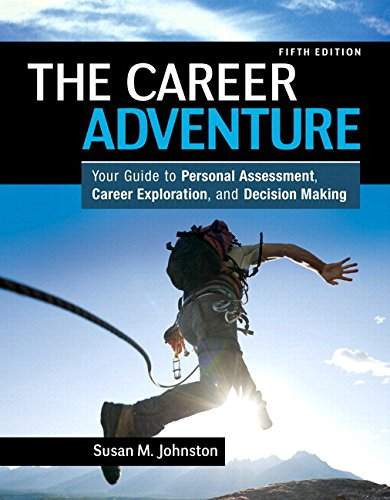 Career Adventure Your Guide to Personal Assessment, Career Exploration, and Decision Making Plus NEW MyStudentSuccessLab Update -- Access Card 5th 2014 9780134051512 Front Cover