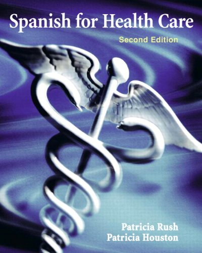 Spanish for Health Care  2nd 2011 edition cover