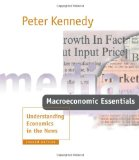 Macroeconomics Essentials Understanding Economics in the News 2nd 2000 9780262112512 Front Cover