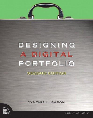 Designing a Digital Portfolio  2nd 2010 edition cover