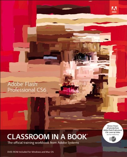 Adobe Flash Professional CS6 Classroom in a Book   2012 edition cover