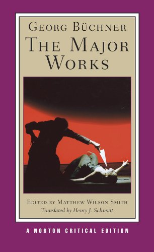 Georg B�chner The Major Works  2011 edition cover