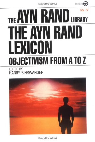 Ayn Rand Lexicon Objectivism from A to Z N/A edition cover