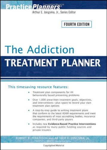 Addiction Treatment Planner  4th 2009 edition cover