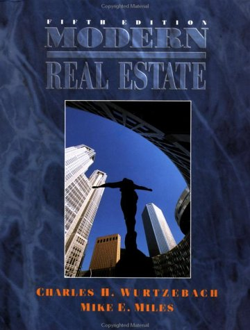 Modern Real Estate  5th 1995 (Revised) 9780471309512 Front Cover