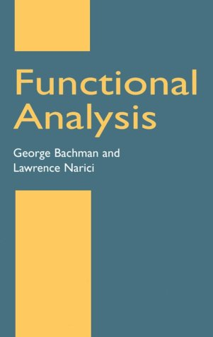 Functional Analysis  2nd 2000 (Unabridged) edition cover