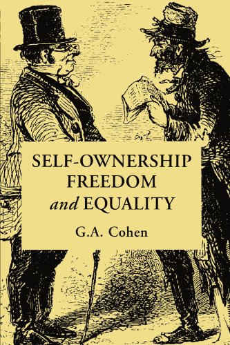 Self-Ownership, Freedom, and Equality   1995 edition cover