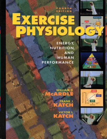 Exercise Physiology Text and Study Guide Set 4th 1996 (Revised) 9780683300512 Front Cover