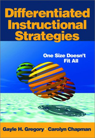 Differentiated Instructional Strategies One Size Doesn't Fit All  2001 edition cover