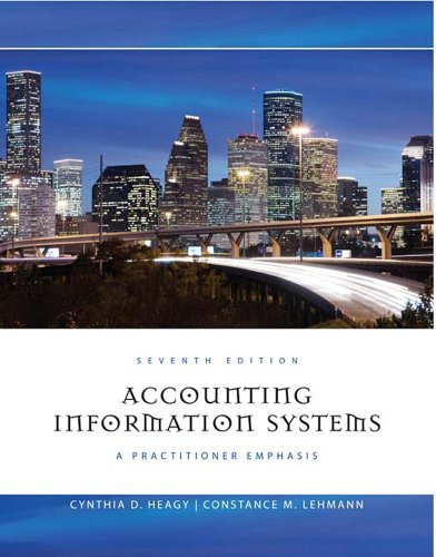 Accounting Information Systems A Practitioner Emphasis 7th 2011 edition cover