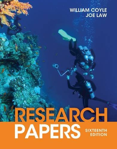 Research Papers  16th 2013 edition cover