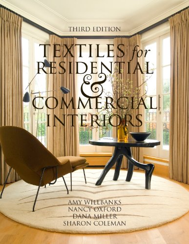 Textiles for Residential and Commercial Interiors 3rd Edition  3rd 2010 (Revised) edition cover