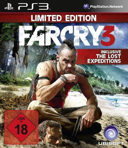 Far Cry 3 PlayStation 3 artwork