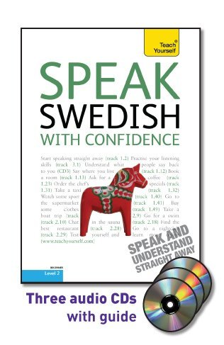 Speak Swedish with Confidence  2nd 2011 edition cover