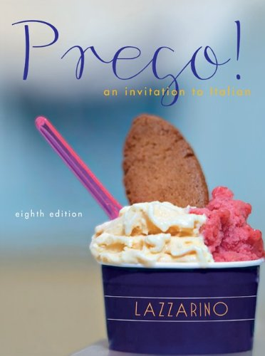 Workbook for Prego!  8th 2012 edition cover