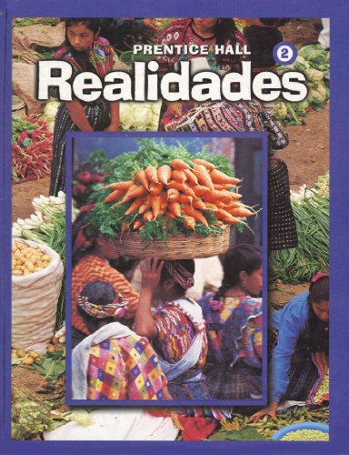 Realidades Level 2  2004 (Large Type) 9780130359513 Front Cover