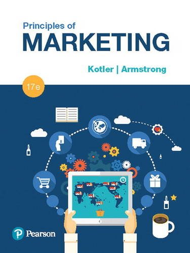 Principles of Marketing:   2017 9780134492513 Front Cover
