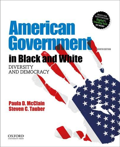 American Government in Black and White Diversity and Democracy 4th 9780190928513 Front Cover