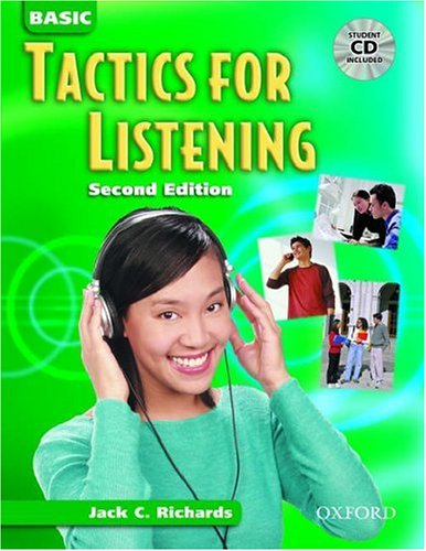 Basic Tactics for Listening  2nd 2003 edition cover