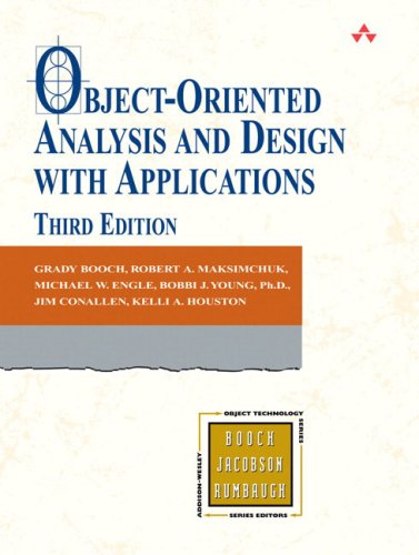 Object-Oriented Analysis and Design with Applications  3rd 2007 edition cover