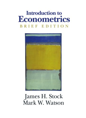 Introduction to Econometrics   2008 (Brief Edition) edition cover