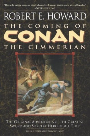 Coming of Conan the Cimmerian   2003 edition cover