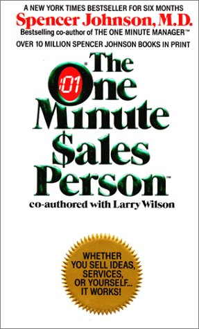 One Minute Sales Person  N/A edition cover