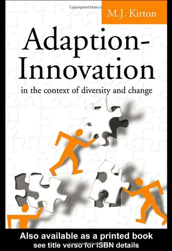 Adaption-Innovation In the Context of Diversity and Change  2003 edition cover