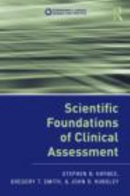 Scientific Foundations of Clinical Assessment   2011 edition cover